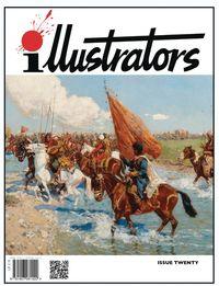 [The cover for Illustrators Magazine #20]