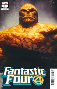 [Fantastic Four #1 (Artgerm Thing Variant) (Product Image)]