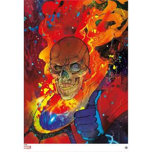 [Cosmic Ghost Rider (Ward & Cates Signed Giclee) (Product Image)]