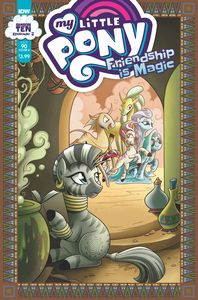 [My Little Pony: Friendship Is Magic #90 (Cover B Hickey) (Product Image)]