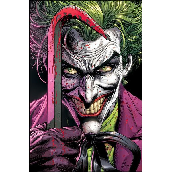 [The cover for Batman: Three Jokers #1]