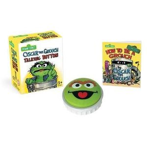 [Sesame Street: Oscar The Grouch Talking Button: Kit (Product Image)]