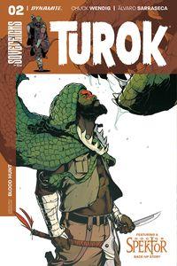 [Turok #2 (Cover B Sarraseca) (Product Image)]