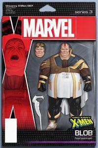 [Uncanny X-Men #7 (Christopher Action Figure Variant) (Product Image)]
