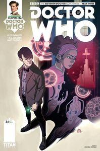 [Doctor Who: 11th Doctor: Year Three #4 (Cover D Florean) (Product Image)]