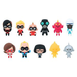 [Disney: Incredibles 2: 3D Figural Keychains: Series 16 (Product Image)]