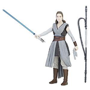 [Star Wars: The Last Jedi: Action Figure: Force Link Rey Jedi Training (Product Image)]