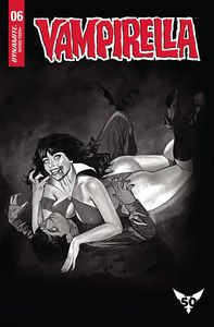 [Vampirella #6 (Dalton Black & White Variant) (Product Image)]