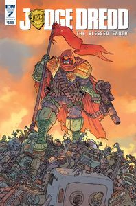 [Judge Dredd: Blessed Earth #7 (Cover A Farinas) (Product Image)]