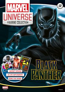 [Marvel Universe: Figurine Collection #12: Black Panther (Product Image)]
