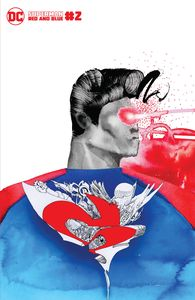 [Superman: Red & Blue #2 (Cover C David Choe Variant) (Product Image)]