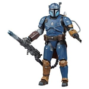 [Star Wars: The Mandalorian: Black Series Action Figure: Heavy Infantry Mandalorian (Product Image)]