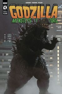 [Godzilla: Monsters & Protectors #4 (Cover B Photo Cover) (Product Image)]