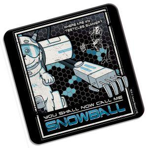 [Rick & Morty: Coaster: Call Me Snowball (Product Image)]