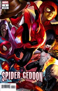 [Spider-Geddon #1 (In Hyuk Lee Connecting Variant) (Product Image)]