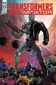 [Transformers Vs Terminator #2 (Cover B Coller) (Product Image)]
