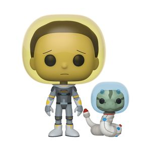 [Rick & Morty: Pop! Vinyl Figure: Space Suit Morty With Snake (Product Image)]