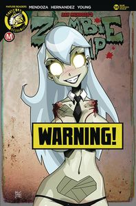 [Zombie Tramp: Ongoing #58 (Cover F Mendoza Risque Limited Edition B) (Product Image)]