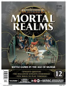 [Warhammer: Age Of Sigmar: Mortal Realms #12 (Product Image)]