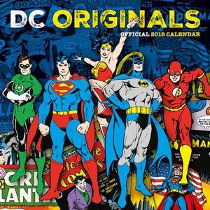 [DC Comics: 2018 Square Calendar (Product Image)]