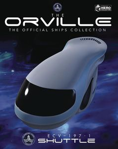 [The Orville: Official Ships Collection #2: Union Shuttle ECV-197-1 (Product Image)]