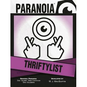 [Paranoia: Thriftylist Card Deck (Product Image)]