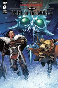 [The cover for Dungeons & Dragons: At The Spine Of The World #1 (Cover A Coccolo)]