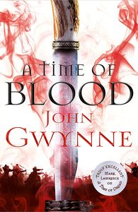 [Of Blood and Bone: Book 2: A Time Of Blood (Hardcover Signed Edition) (Product Image)]