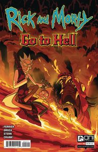 [Rick & Morty: Go To Hell #2 (Cover A Oroza) (Product Image)]