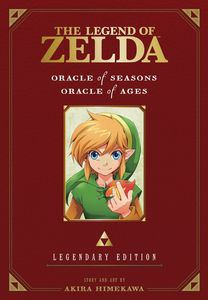 [The Legend Of Zelda: Volume 2: Oracle Of Seasons & Oracle Of Ages (Legendary Edition) (Product Image)]
