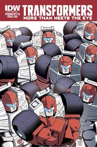 [Transformers: More Than Meets Eye #43 (Subscription Variant) (Product Image)]