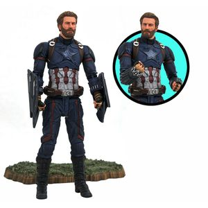 [Avengers: Infinity War: Marvel Select Action Figure: Captain America (Product Image)]