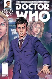 [Doctor Who: 10th Doctor: Year Three #4 (Cover A Diaz) (Product Image)]
