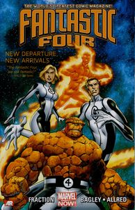 [Fantastic Four: Volume 1: New Departure, New Arrivals (Product Image)]