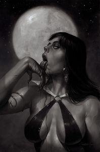 [Vampirella #21 (Parrillo Black & White Virgin Variant) (Product Image)]