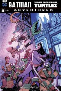 [Batman/Teenage Mutant Ninja Turtles: Adventures #5 (Product Image)]