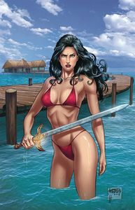 [Grimm Fairy Tales Presents: Swimsuit Edition 2019 One Shot #1 (Cover A Reyes) (Product Image)]