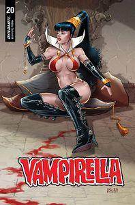 [Vampirella #20 (Premium White FOC Variant) (Product Image)]