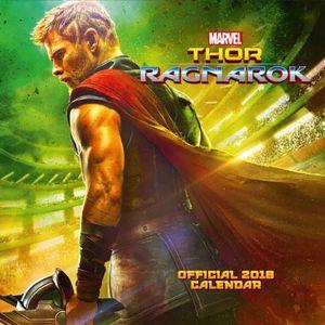 [Thor: 2018 Square Calendar (Product Image)]