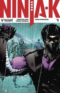 [Ninja-K #1 (2nd Printing) (Product Image)]