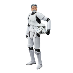 [Star Wars: Black Series Lucasfilm 50th Anniversary Action Figure: George Lucas (In Stormtrooper Disguise) (Product Image)]