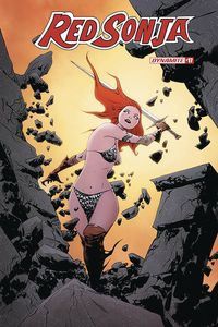 [The cover for Red Sonja #17 (Cover A Lee)]