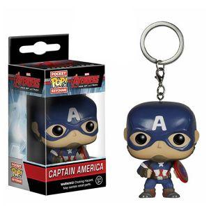 [Marvel: Avengers: Age Of Ultron: Pocket Pop! Vinyl Keychains: Captain America (Product Image)]