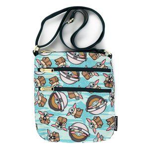 [Star Wars: The Mandolorian: Loungefly Passport Bag: The Child (Baby Yoda) (Product Image)]