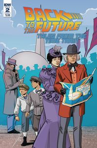 [Back To The Future: Time Train #2 (Cover A Levens) (Product Image)]