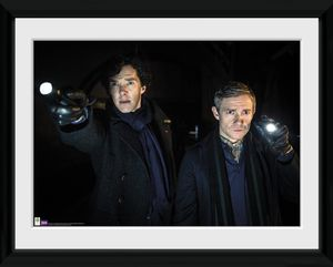 [Sherlock: Framed Print: Torches (Product Image)]