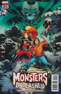 [Monsters Unleashed #2 (Product Image)]