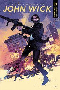 [John Wick #1 (Cover B Cowan Sienkiewicz) (Product Image)]