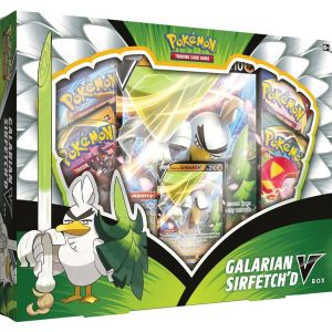 [Pokémon: Trading Card Game: Galarian Sirfetch'd V Box (Product Image)]