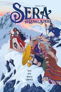 [The cover for Sera & Royal Stars #8]
